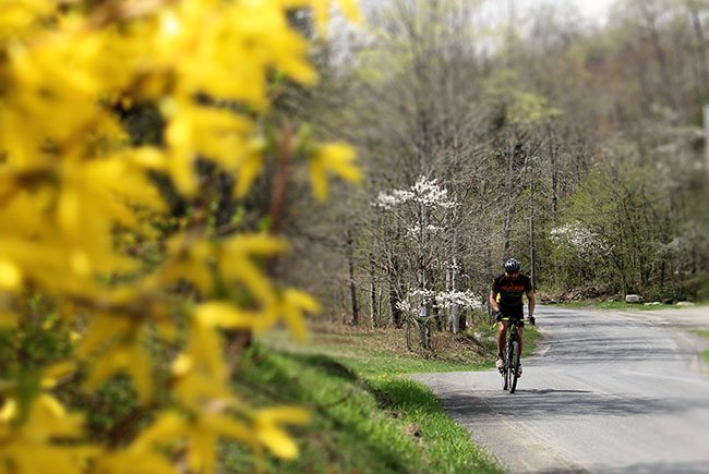 The Cross Mountain gravel grind is a fantastic way to enjoy the fresh beauty of Spring in the Catskills